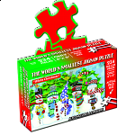 World's Smallest Jigsaw Puzzle - White Christmas