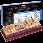 Comic Cube Puzzle - Frank & Ernest