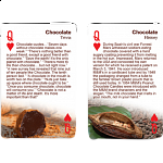 Playing Cards - Chocolate Facts