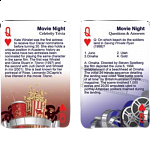 Playing Cards - Movie Night Trivia