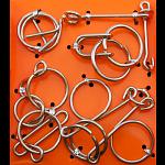 Wire Puzzle Set  #1 - Group of 4 - Hanayama