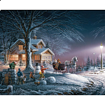 Terry Redlin - Winter Wonderland