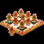 Tic Tac Toe - Gingerbread