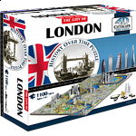 4D City Scape Time Puzzle - London