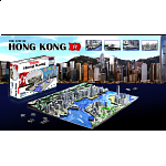 4D City Scape Time Puzzle - Hong Kong