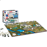 4D City Scape Time Puzzle - Washington D.C.
