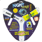 Night Booma - Sports Polymer Boomerang