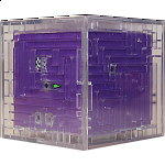 3D Ball Maze: Cube 1 - Purple