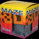 3D Ball Maze: Cube 1 - Pink