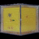 3D Ball Maze: Cube 1 - Yellow