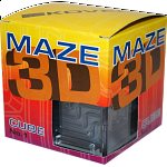 3D Ball Maze: Cube 1 - Metallic Gold