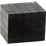 Fully Functional 4x4x5 Cube - Black Body - DIY