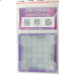 Svetnashki - Large - 6x6 - Optical Puzzle - Purple