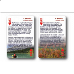 Playing Cards - Canada Facts