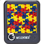 Sliding Pieces Puzzle - M.C. Escher : 3 Fish