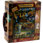 Collector Suitcase Jigsaw - Yellowstone National Park