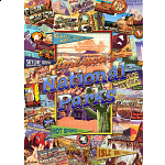 Collector Suitcase Jigsaw - American National Parks