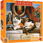 MasterPieces Gerschwin Cat-O-Logy Puzzle, 1000-Piece