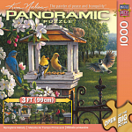 1000 Piece Panoramic Puzzle - Springtime Melody by Kim Norlien
