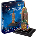 Empire State Building - LED Lit 3D Jigsaw Puzzle