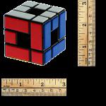 CT Void Bandaged 3 Cube - Black Body