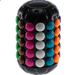 Magic Cube - Circular Bean Tower - Rotating Beads Puzzle