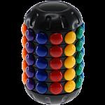 Magic Cube - Circular Bean Tower - Rotating Beads Puzzle
