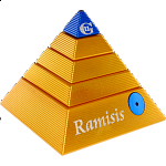 Ramisis: GII - Gold with Blue Capstone