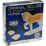 3D Crystal Puzzle Deluxe - Horse