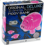 3D Crystal Puzzle Deluxe - Piggy Bank