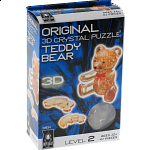 3D Crystal Puzzle - Teddy Bear (Brown)