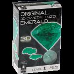 3D Crystal Puzzle - Gem - Emerald Green