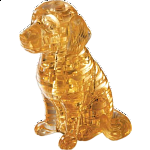 3D Crystal Puzzle - Dog