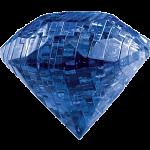 3D Crystal Puzzle - Gem - Sapphire Blue