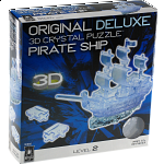 3D Crystal Puzzle Deluxe - Pirate Ship