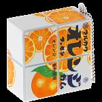 2x2x1 Rotational  Keychain Puzzle - Orange