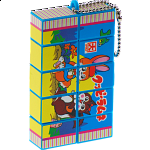 5x1x2 Rotational  Keychain Puzzle - Kuppy