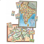 Ticket to Ride: India includes map Switzerland