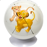 Lion King Puzzle Ball 3