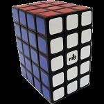 Fully Functional 3x4x5 Cube - Black body - DIY