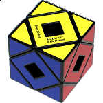Holey Skewb Cube - Black Body