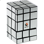 Siamese Mirror Cube - Silver Labels
