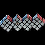 Quadruple 3x3 Cube