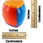 Super 5 Layer Pentahedron Puzzle - Solid 5 Color Body
