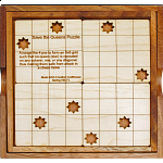 Save the Queens Chess Puzzle with Cover