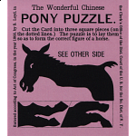 The Wonderful Chinese Pony Puzzle - Purple - Limited Edition