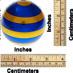 Isis: Limited Edition - Blue and Gold Extreme Orb - with Book