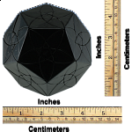 Bauhinia Dodecahedron - Black Body - DIY - MF8