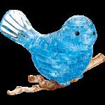3D Crystal Puzzle - Bird (Blue)