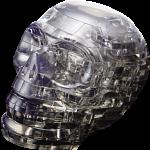 3D Crystal Puzzle - Black Skull